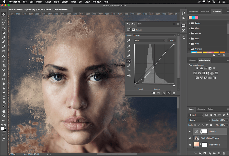 LESSONS ON PHOTOSHOP